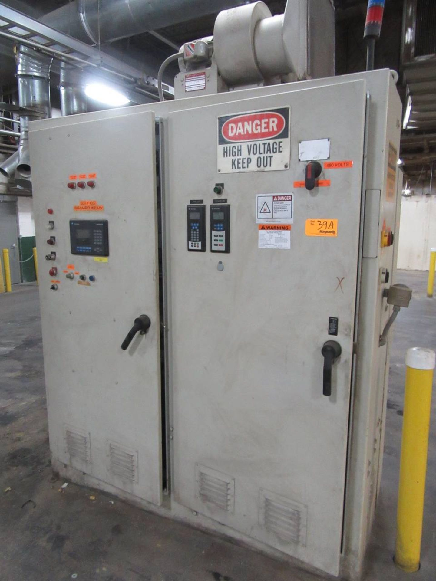 Lot 39A - Control Cabinet for Dubois Roll Machine