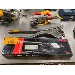 Roper Whitney 24'' Sheet Metal Punch 1/4 Capacity Thru 1/4 Iron