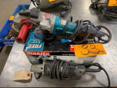 Assorted Electric Power Tools