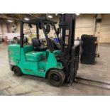 2016 Mitsubishi FGC55K Forklift