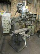 Bridgeport 2 HP Vertical Turret Milling Machine