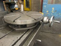 """Troyke T-21 21"""" Rotary Table"""