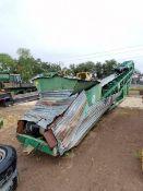 2012 McCloskey 3680DK Wheel Mounted Stacking Conveyor