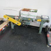 """Hytrol 60"""" x 8"""" Belt Conveyor"""