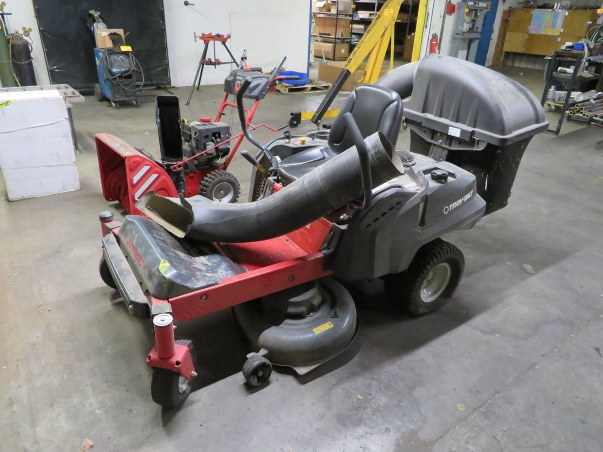 "Lot 551 - Troy-Built Mustang 42"" Zero Turn Mower"