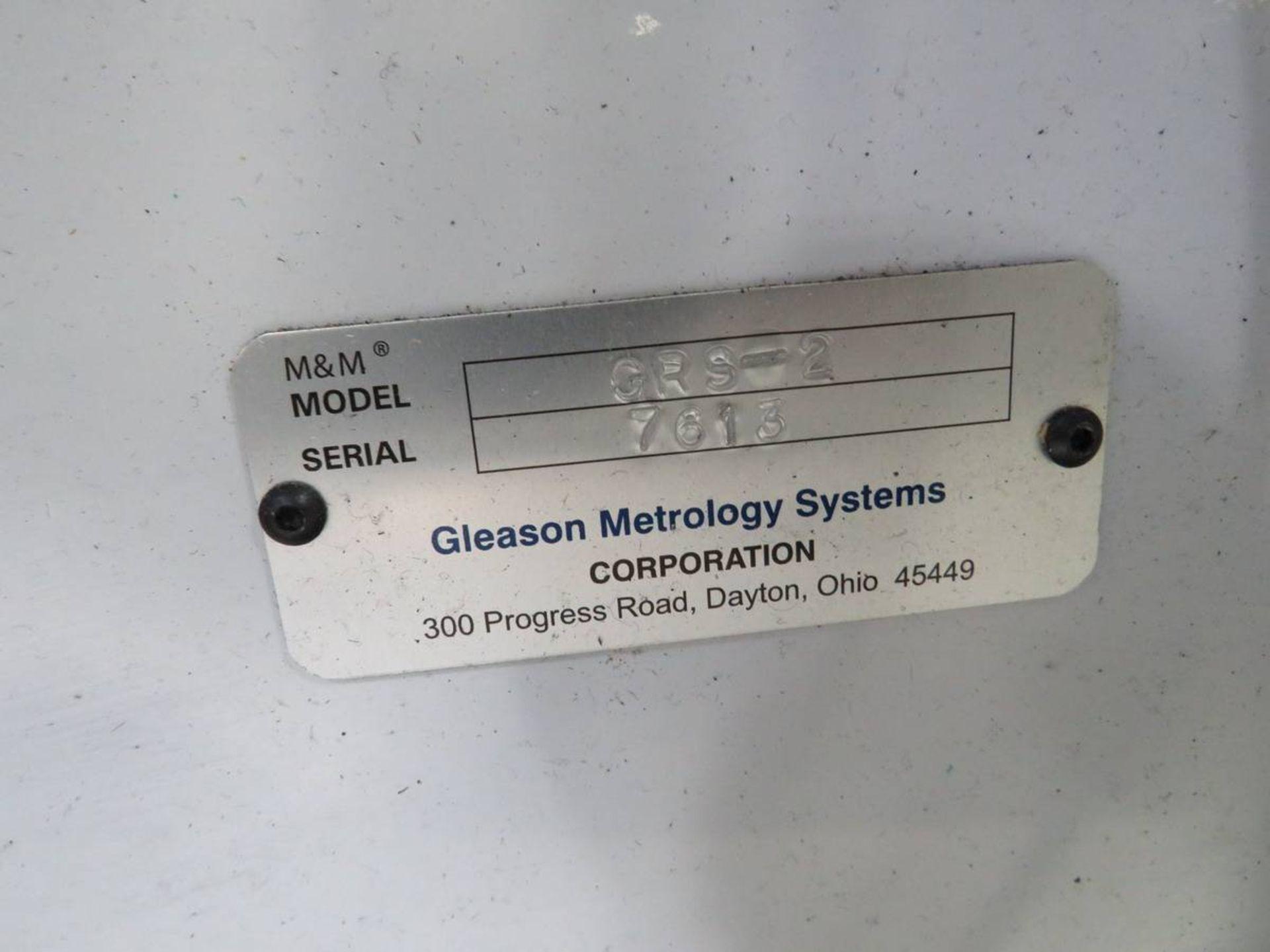 Lot 259 - 2019 Gleason GRS2 Heavy-Duty Double Flank Gear Roller System