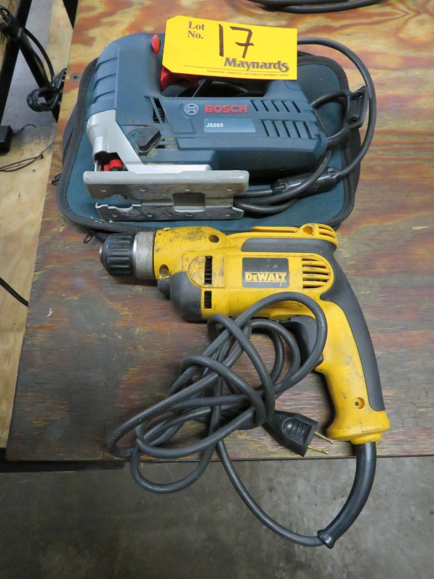 Lot 17 - Assorted Electrical Tools