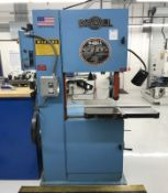 "DoAll 20"" Vertical Band Saw"