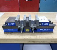 "Kurt 4"" Double Lock Machine Vise, Model DL430"