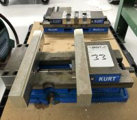 "Kurt 6"" Machine Vise, Model HD690, w/ 11.5"" Soft Jaws"