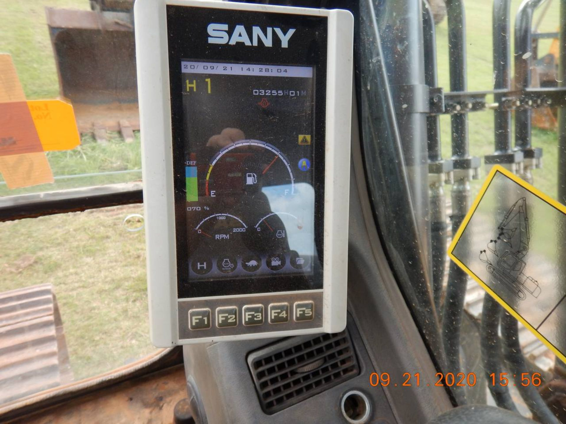 Lot 7 - 2015 SANY SY365C Excavator