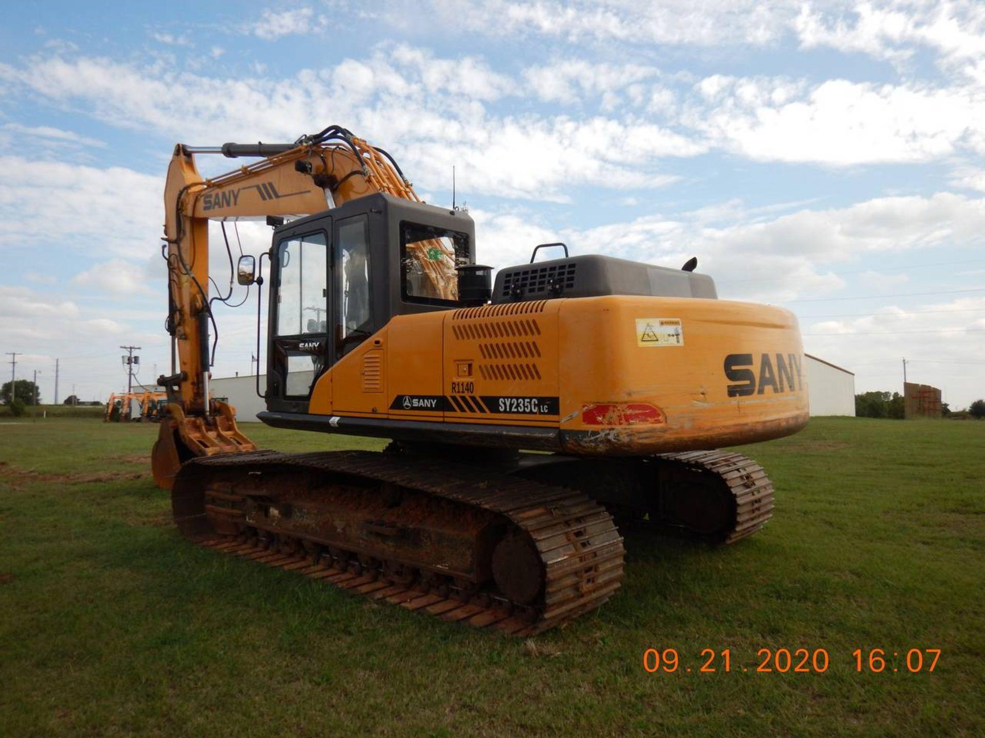 Lot 9 - 2016 SANY SY235C Excavator