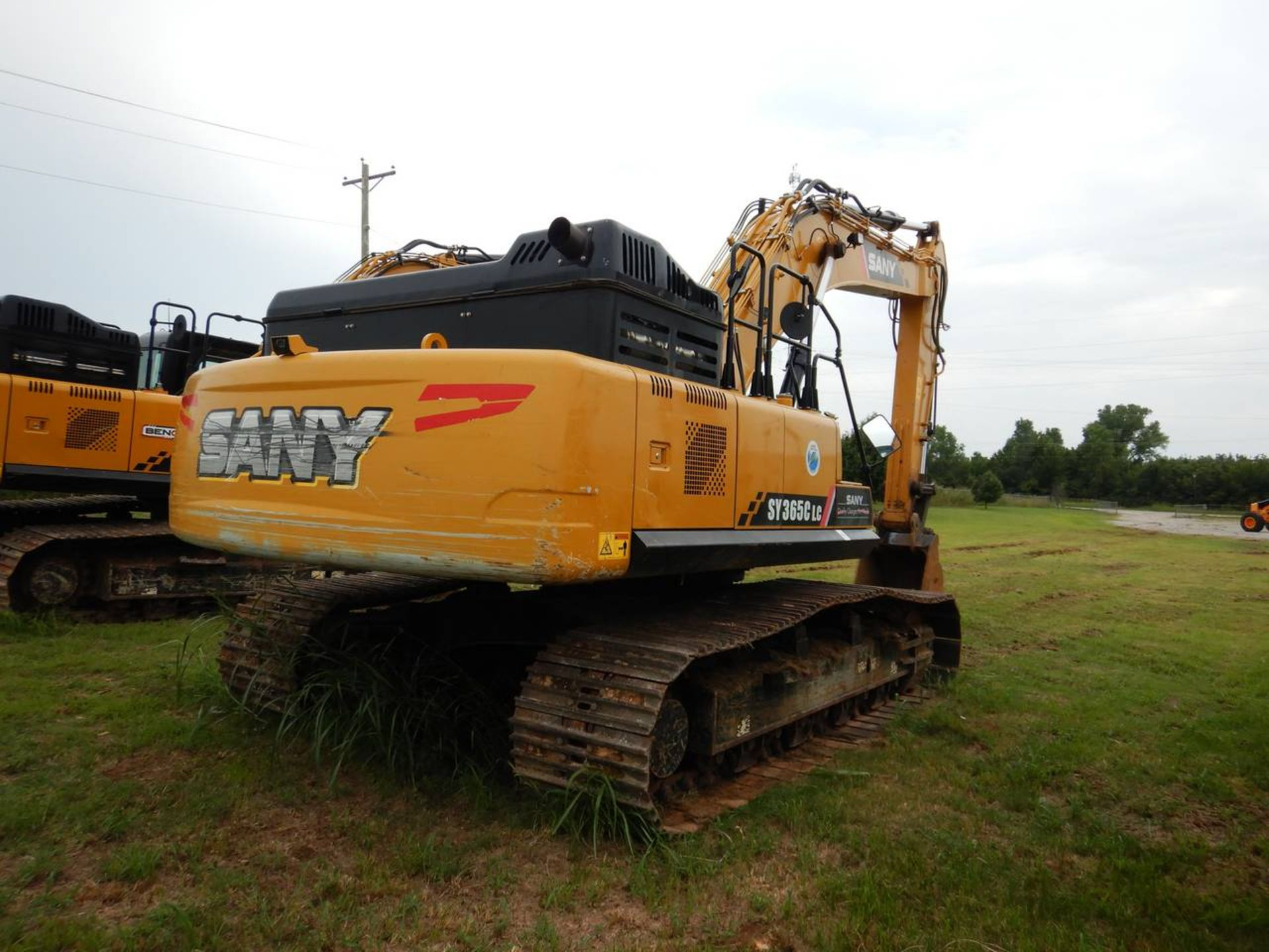 Lot 1 - 2017 SANY SY365C Excavator
