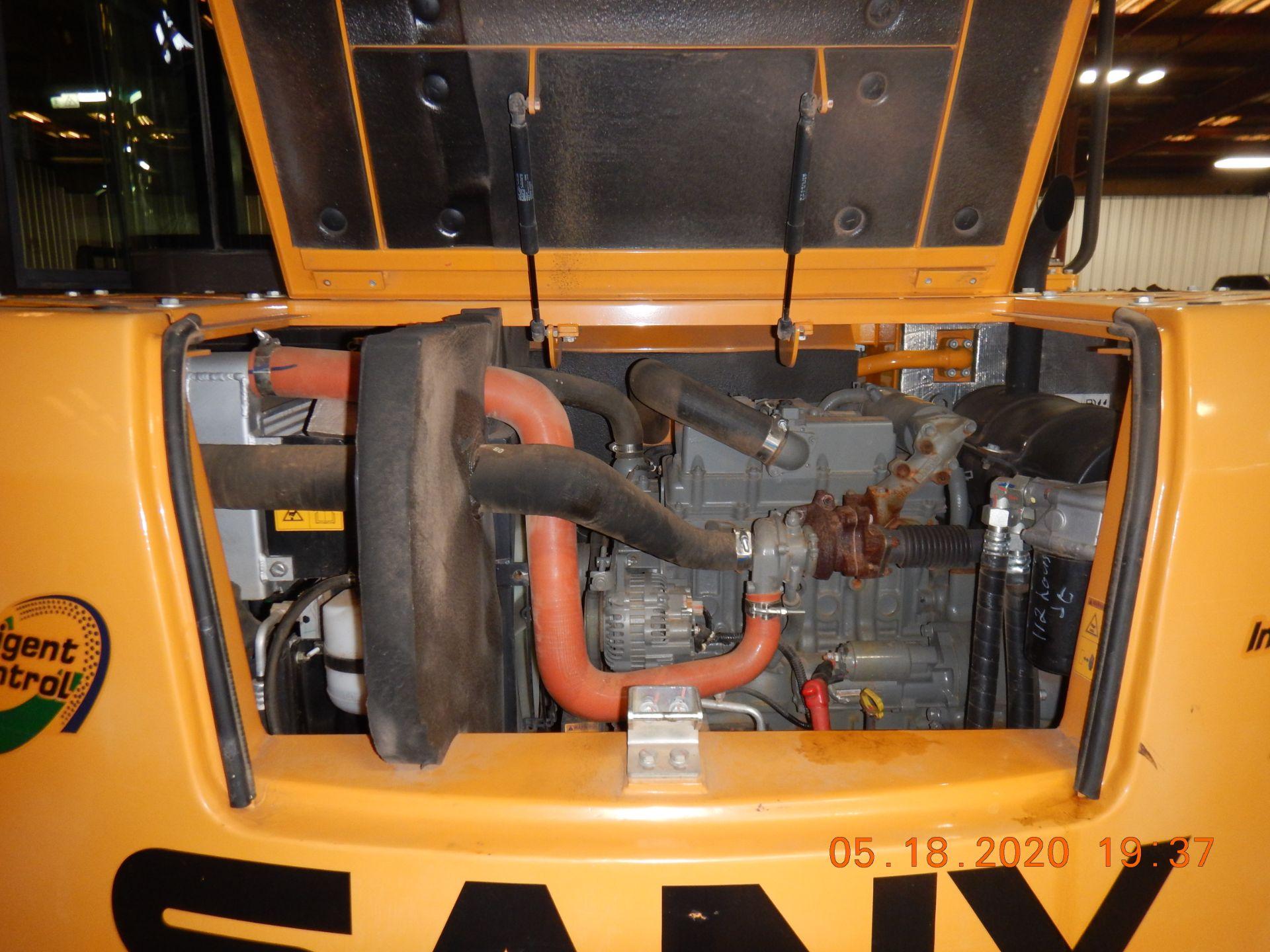 Lot 27 - 2016 SANY SY75R Mini Excavator