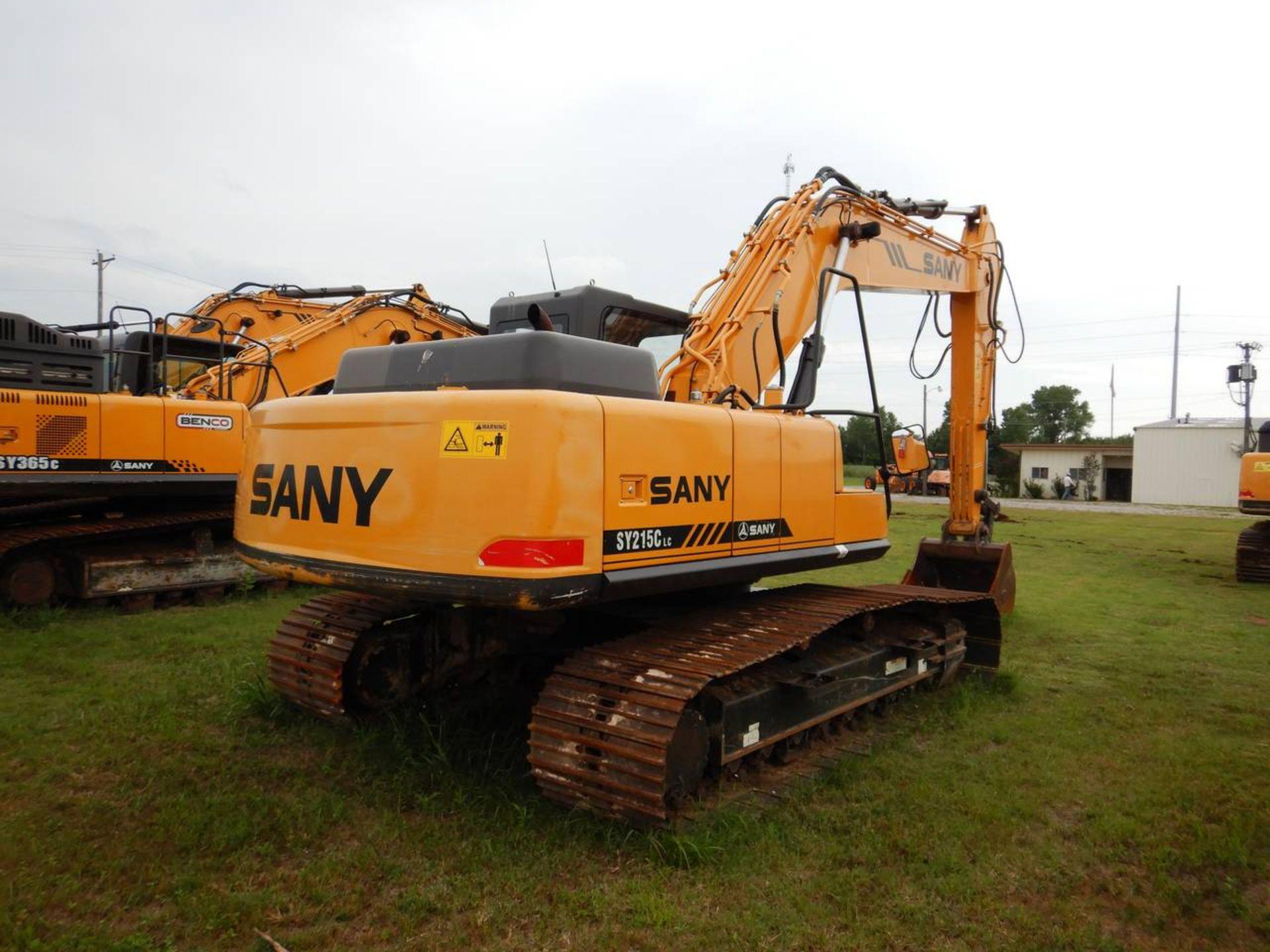 Lot 21 - 2016 SANY SY215C Excavator