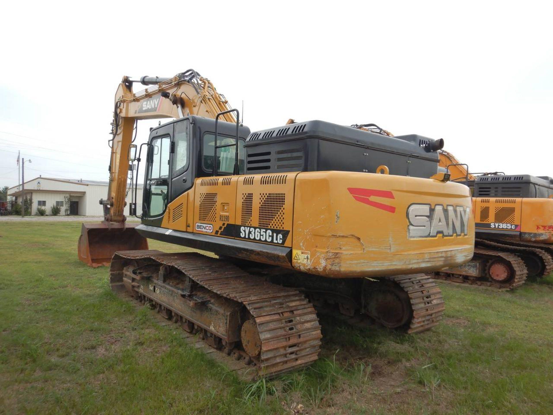 Lot 3 - 2017 SANY SY365C Excavator