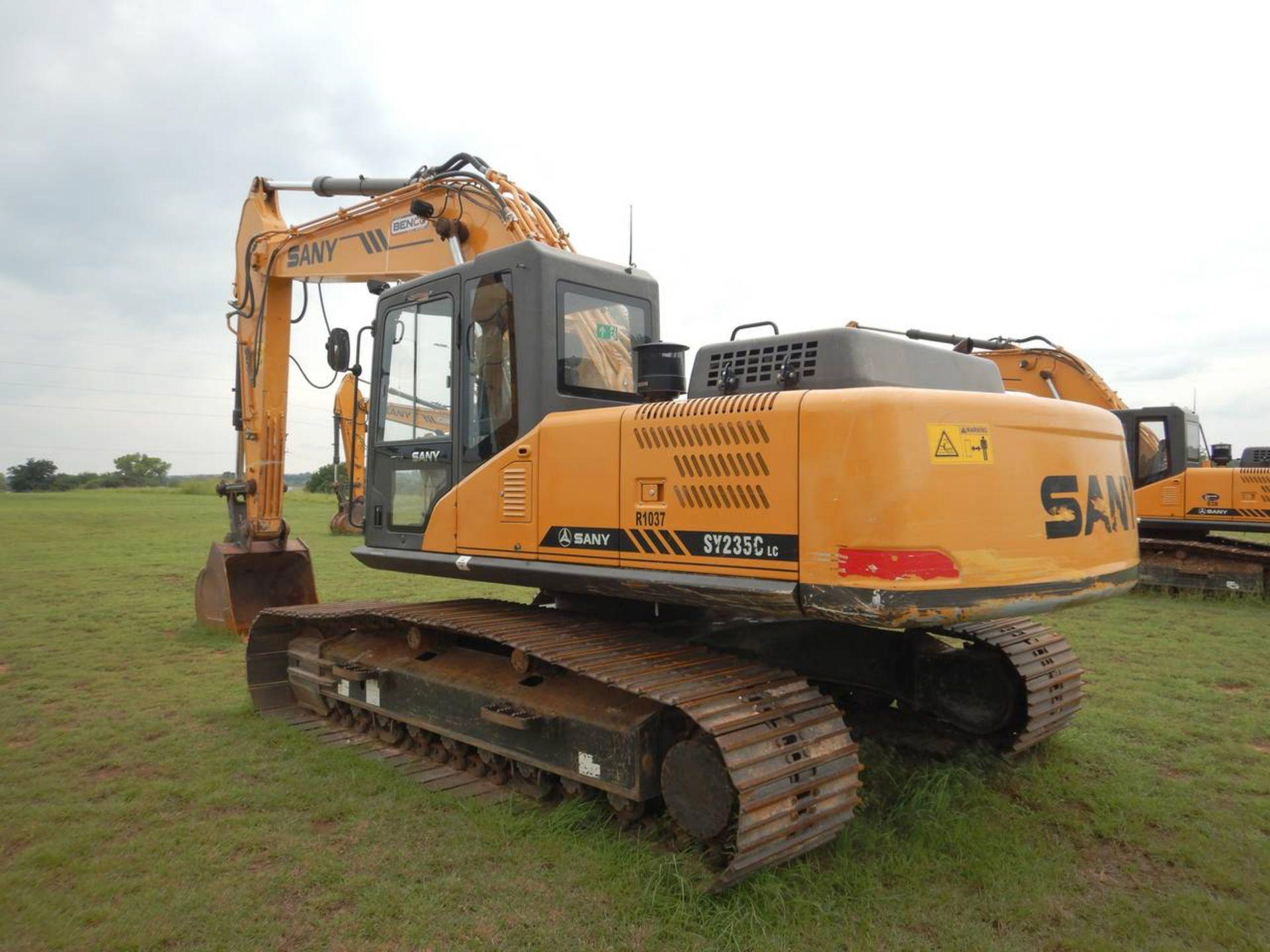 Lot 12 - 2016 SANY SY235C Excavator