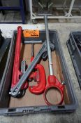 Rigid (2) Pipe Wrenches,