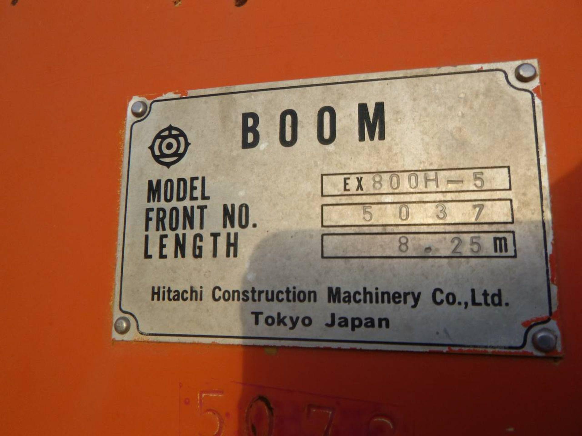1997 Hitachi EX750-5 Excavator - Image 10 of 11