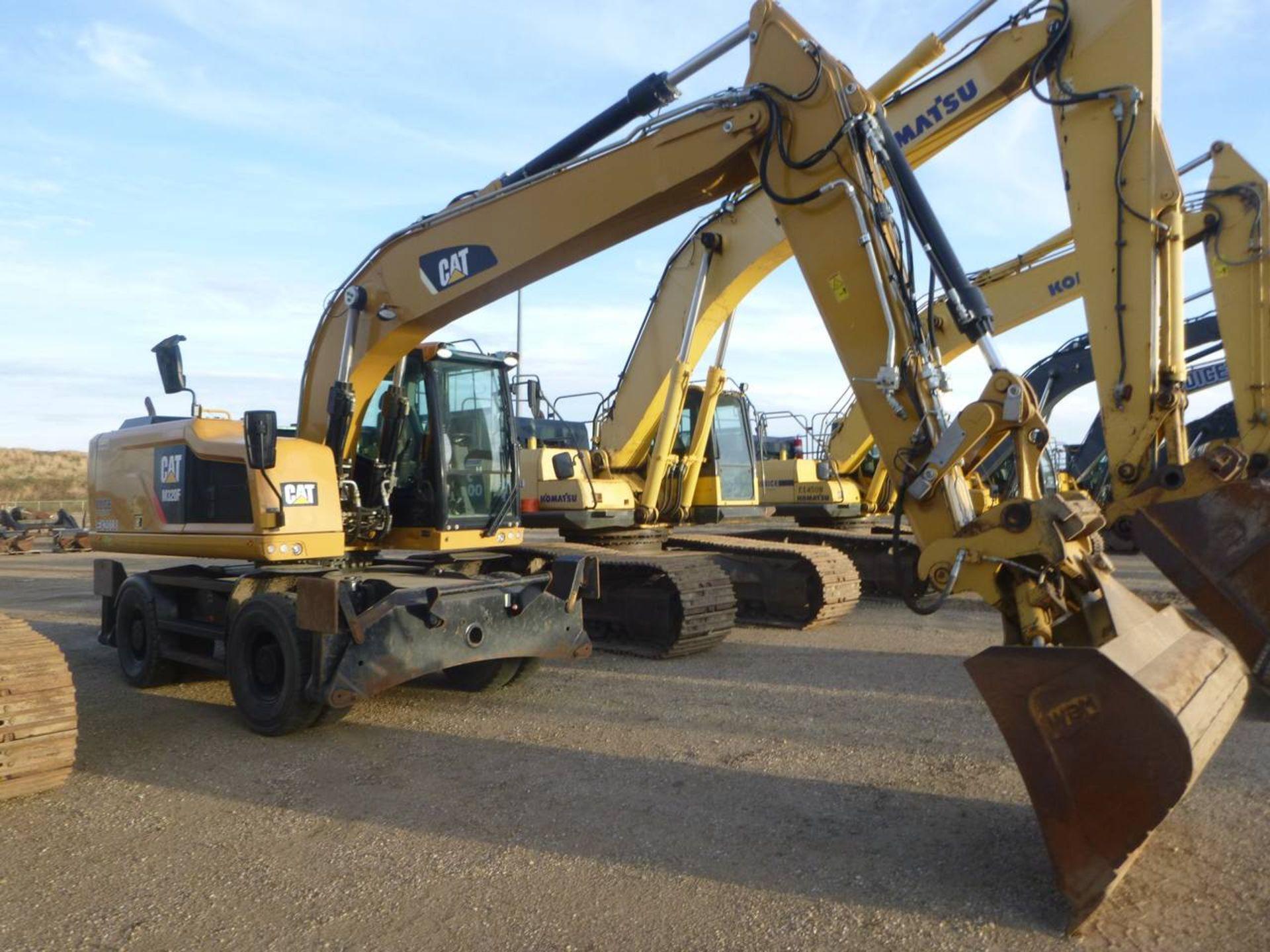 2015 Caterpillar M320F Wheel Excavator - Image 3 of 18
