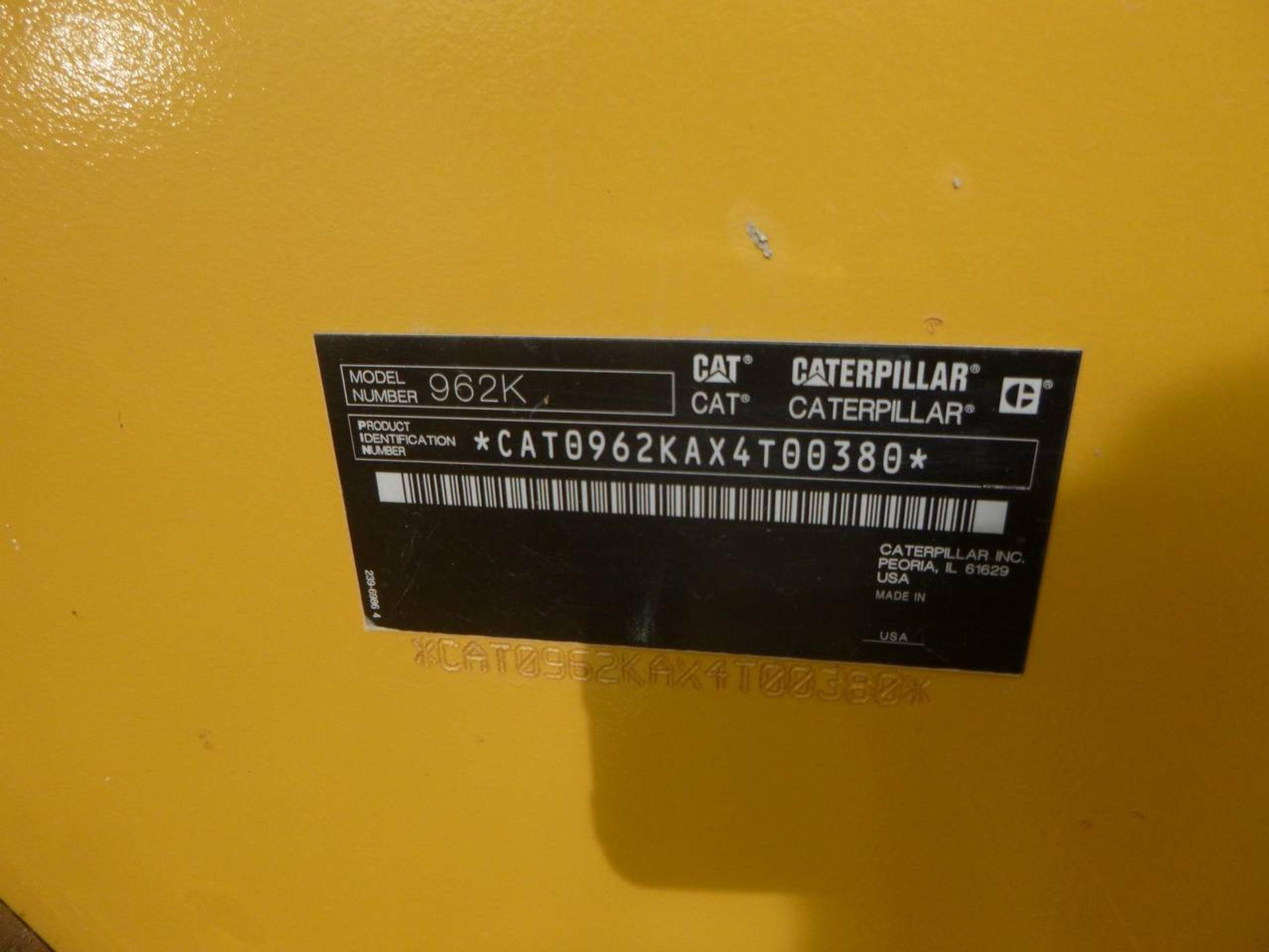 2012 Caterpillar 962K Front End Loader - Image 6 of 10