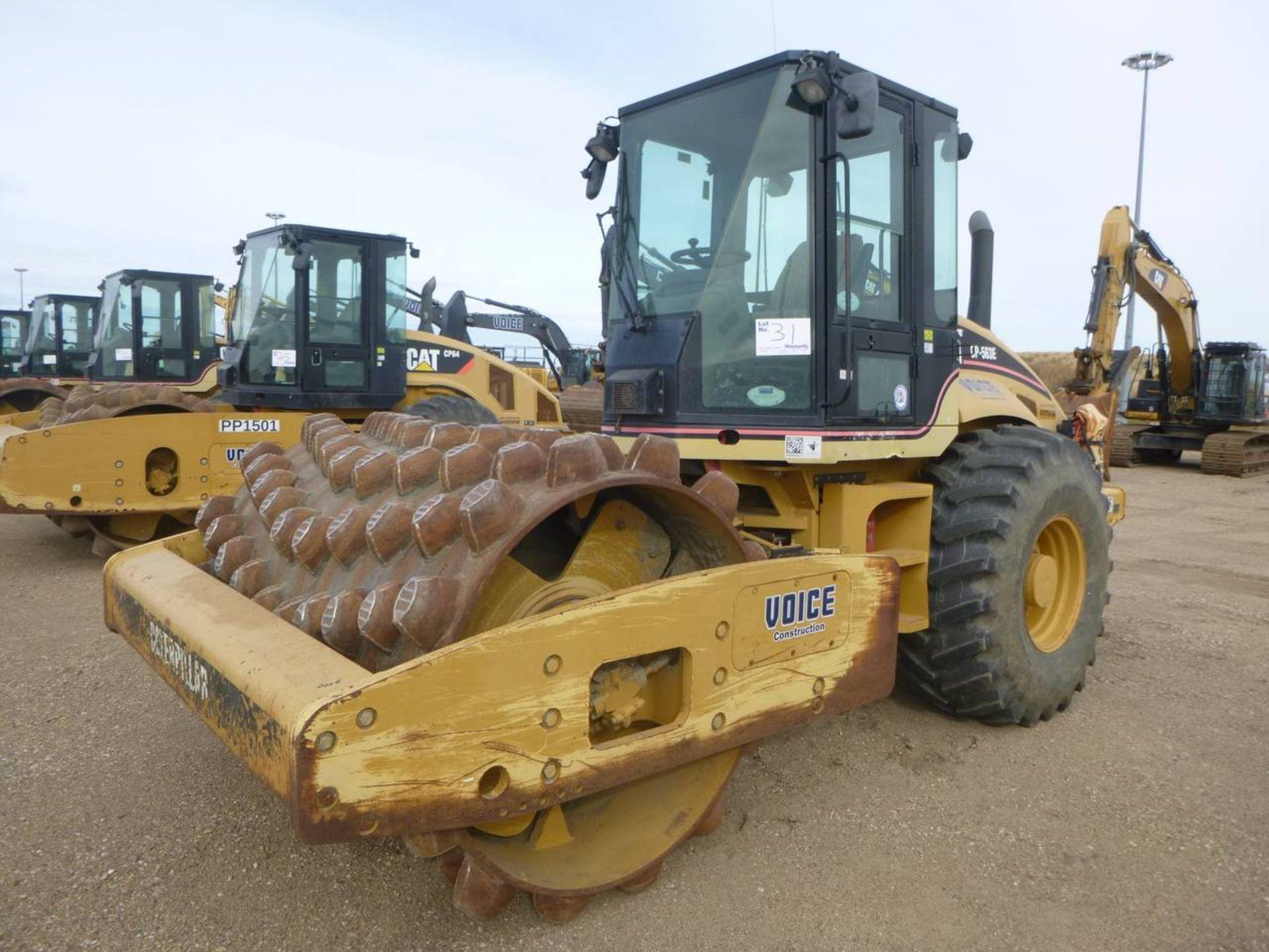 2006 Caterpillar CP-563E Compactor