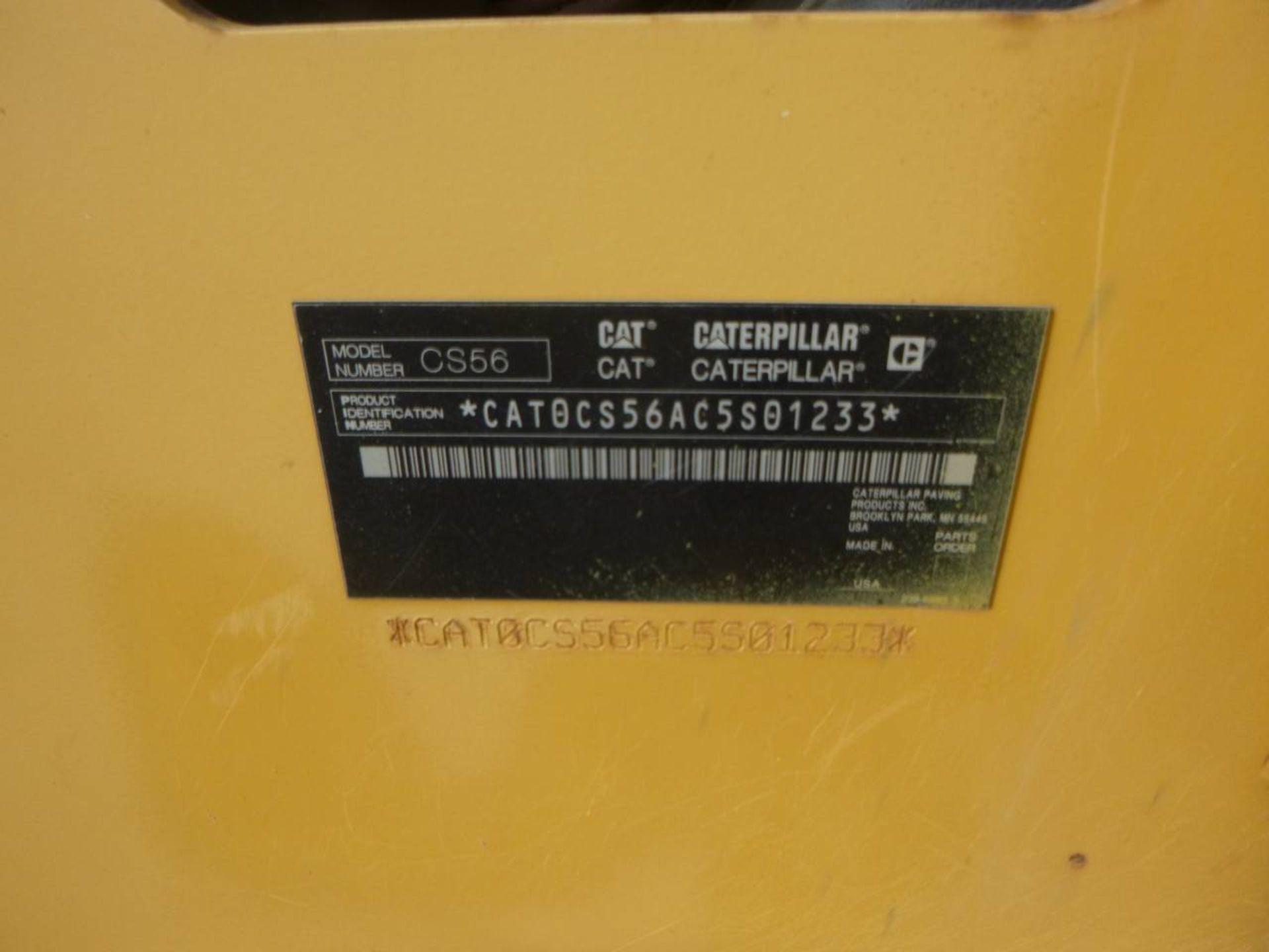 2011 Caterpillar CS56 Compactor - Image 9 of 9