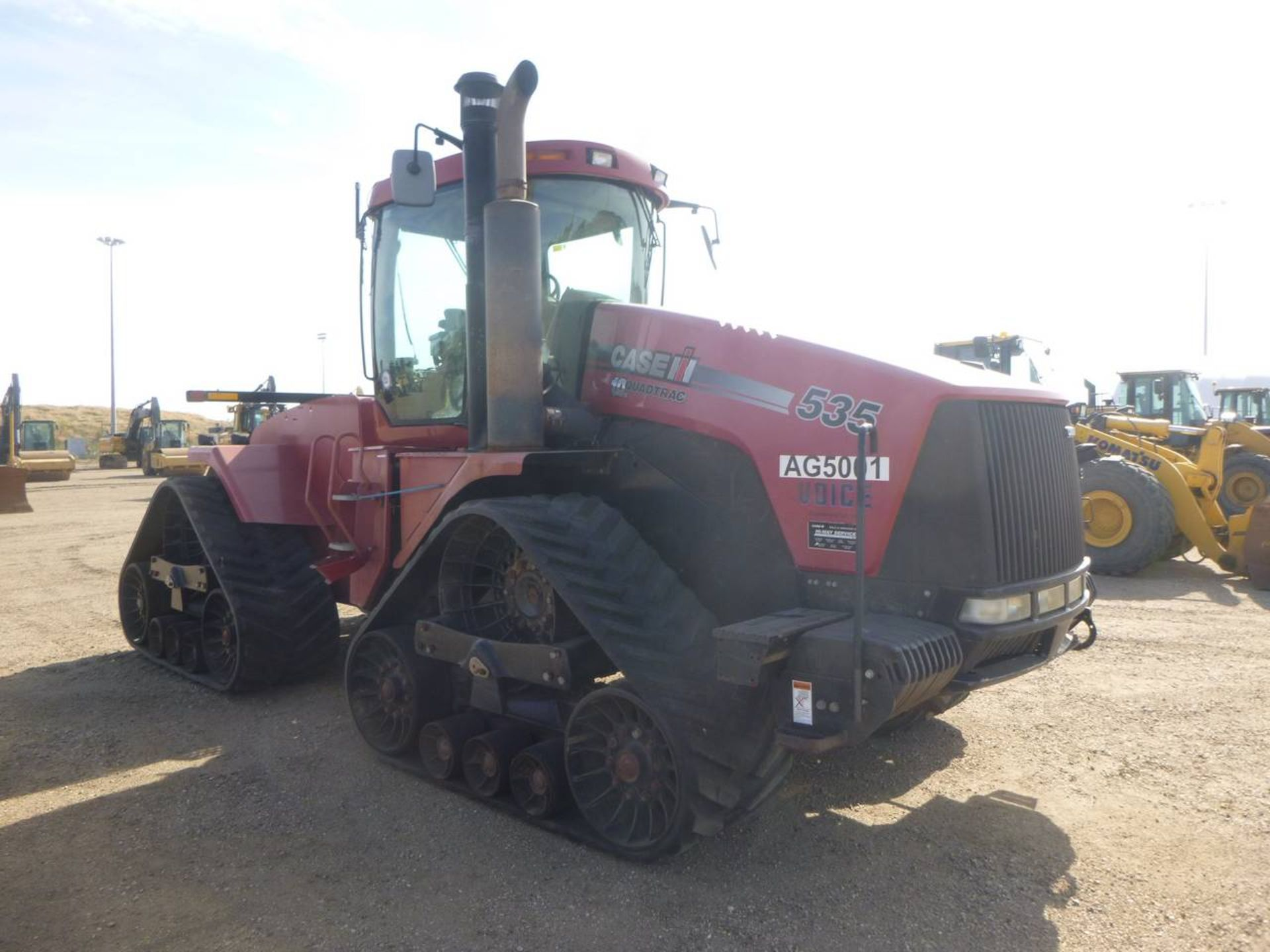 2008 Case IH 535 Tractor - Image 2 of 9