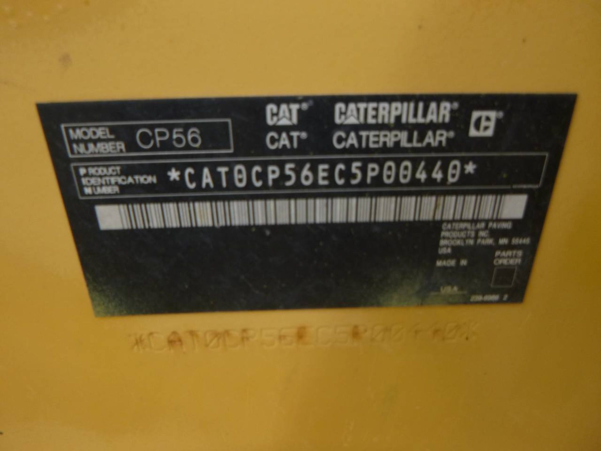 2009 Caterpillar CP56 Compactor - Image 9 of 9
