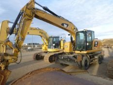 2015 Caterpillar M320F Wheel Excavator