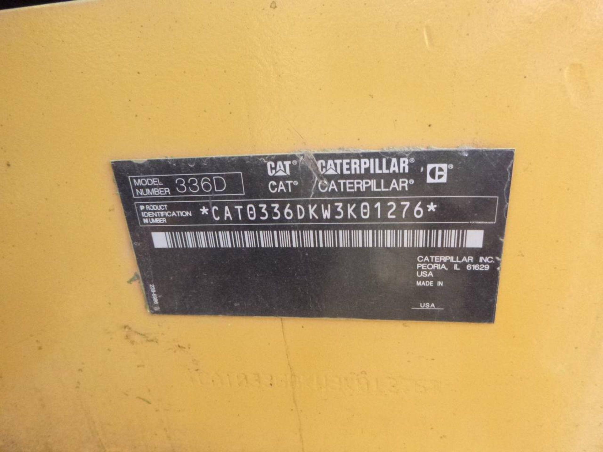 2010 Caterpillar 336D L Excavator - Image 8 of 13