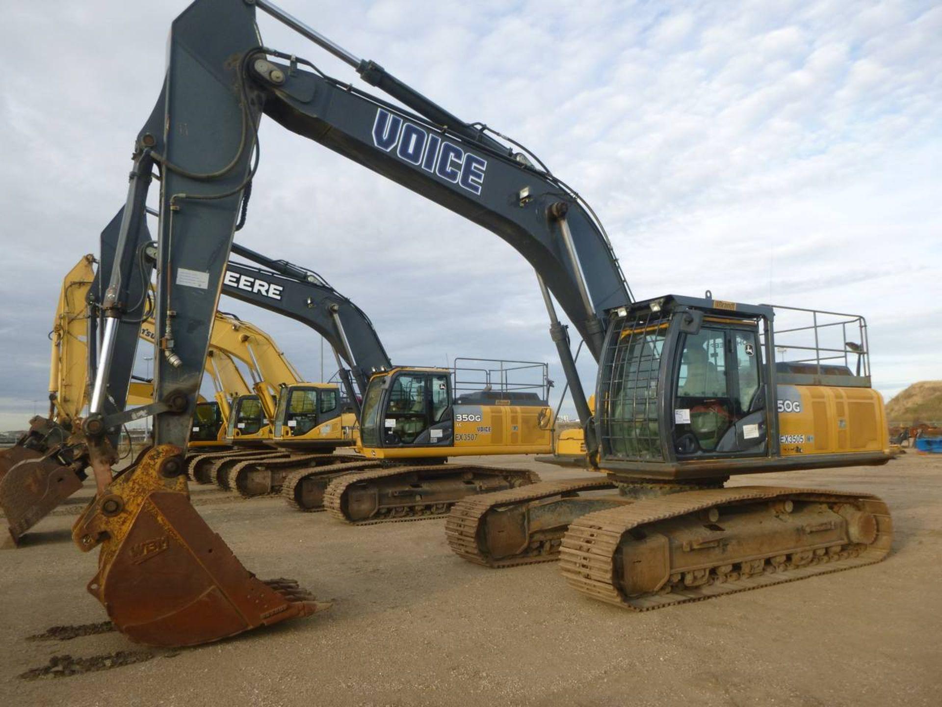 2012 John Deere 350G LC Excavator