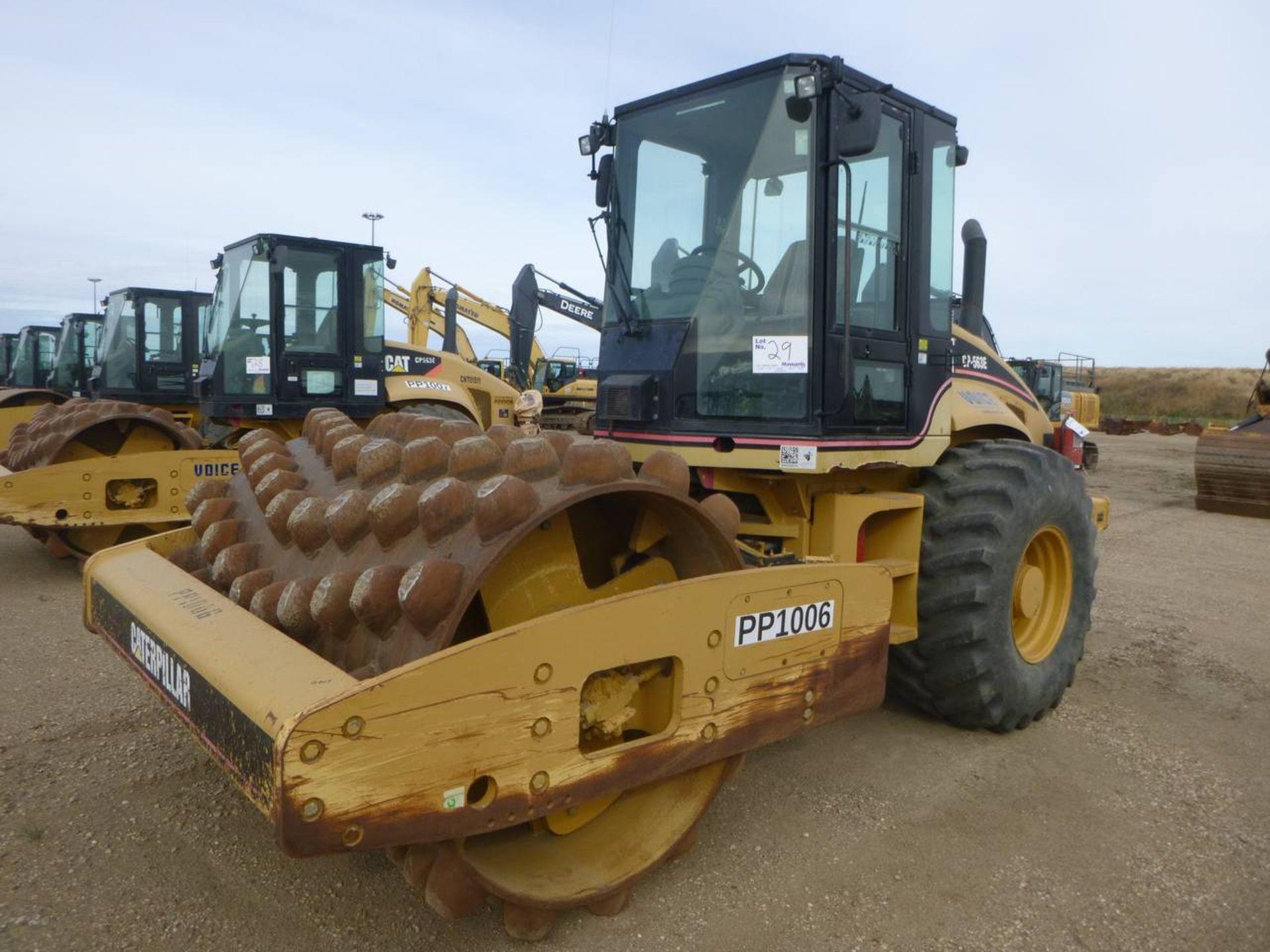 2007 Caterpillar CP-563E Compactor