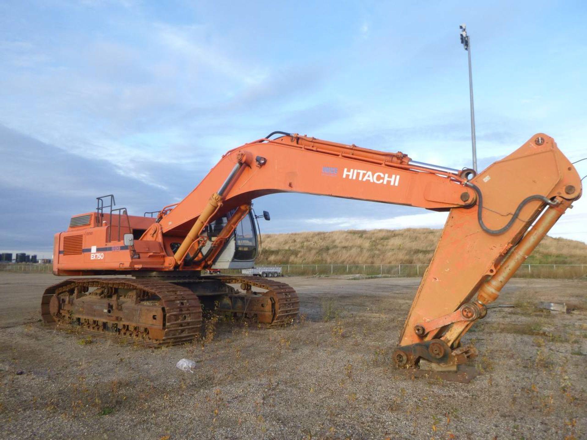 1997 Hitachi EX750-5 Excavator - Image 2 of 11