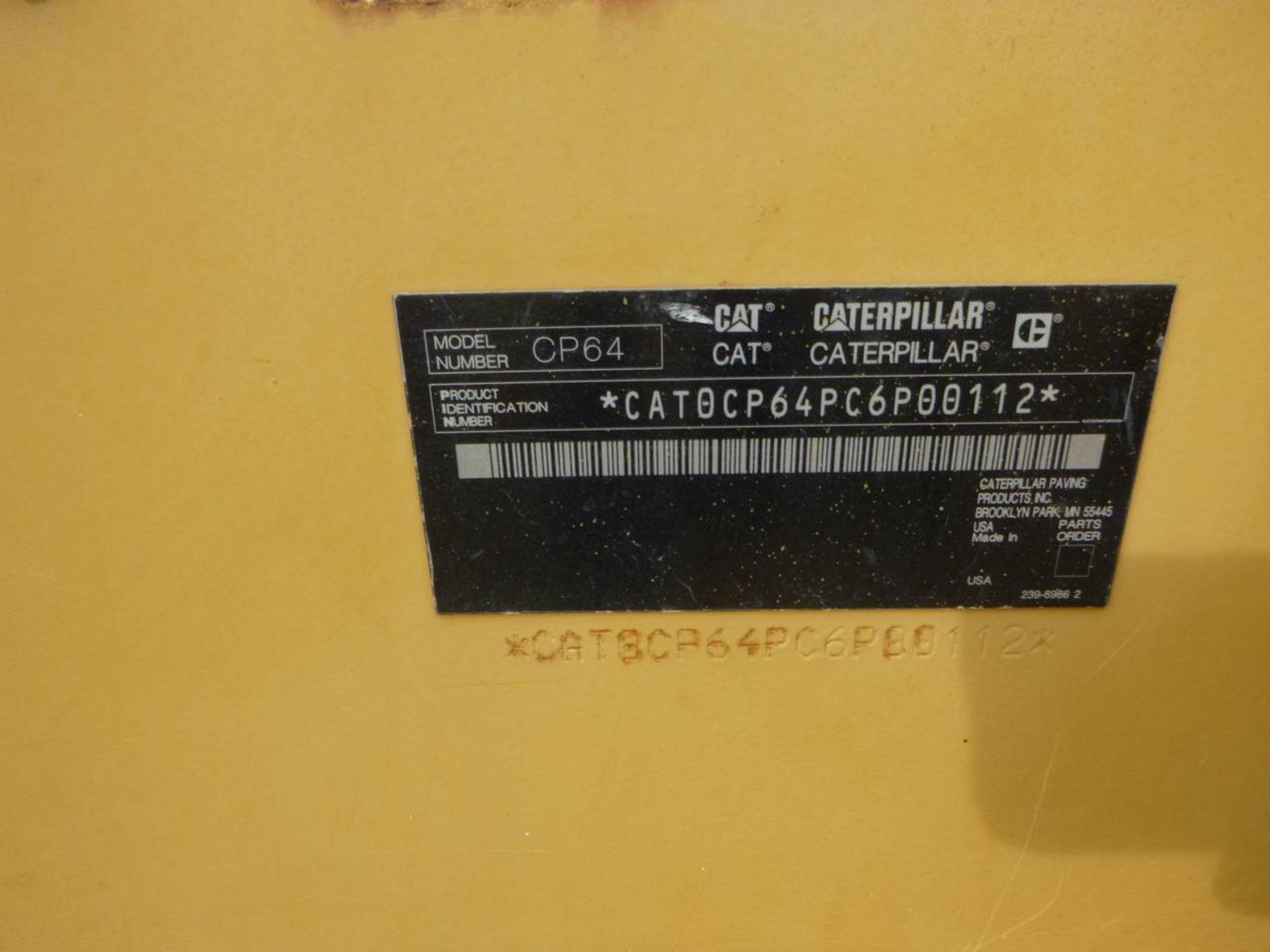 2009 Caterpillar CP64 Compactor - Image 9 of 9