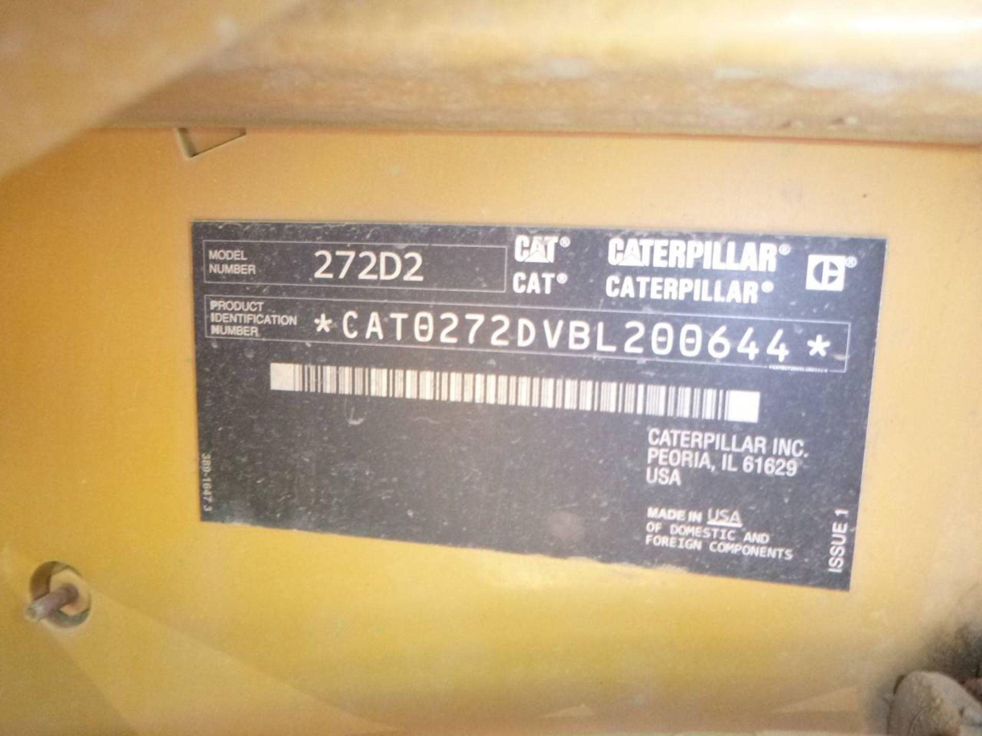 2017 Caterpillar 272D2 Skid Steer Loader - Image 8 of 8