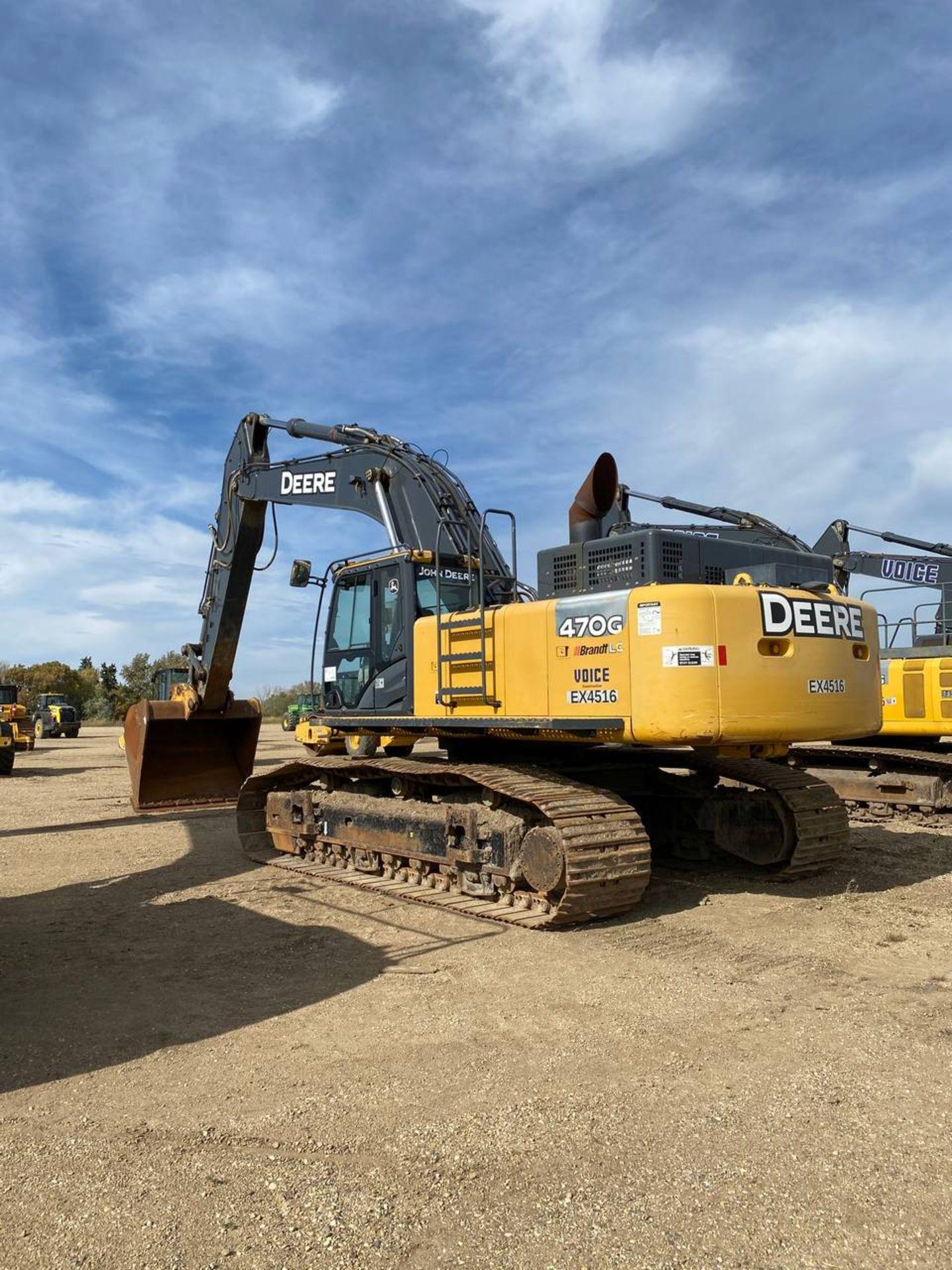 2014 John Deere 470G LC Excavator - Image 6 of 12