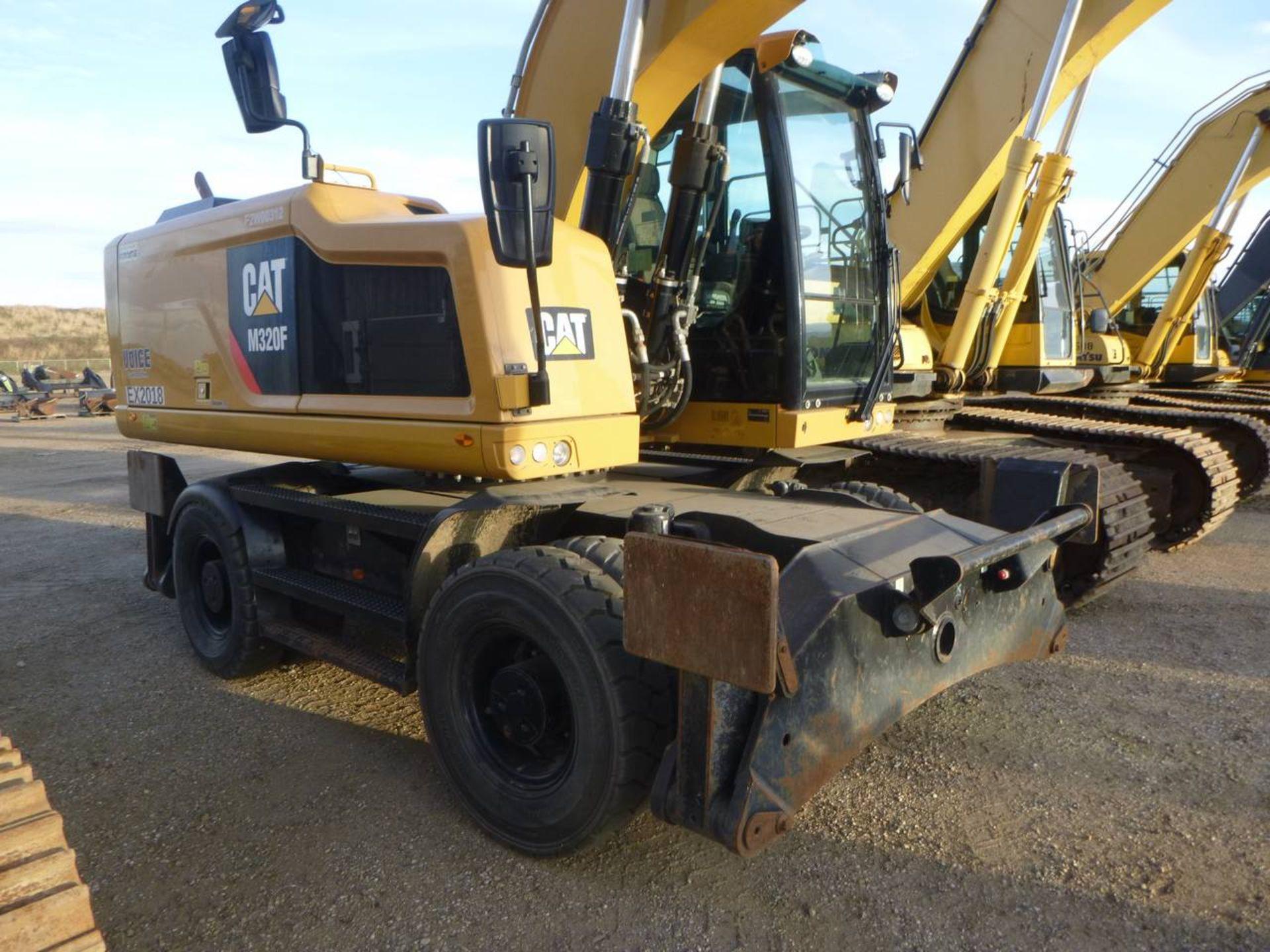 2015 Caterpillar M320F Wheel Excavator - Image 4 of 18