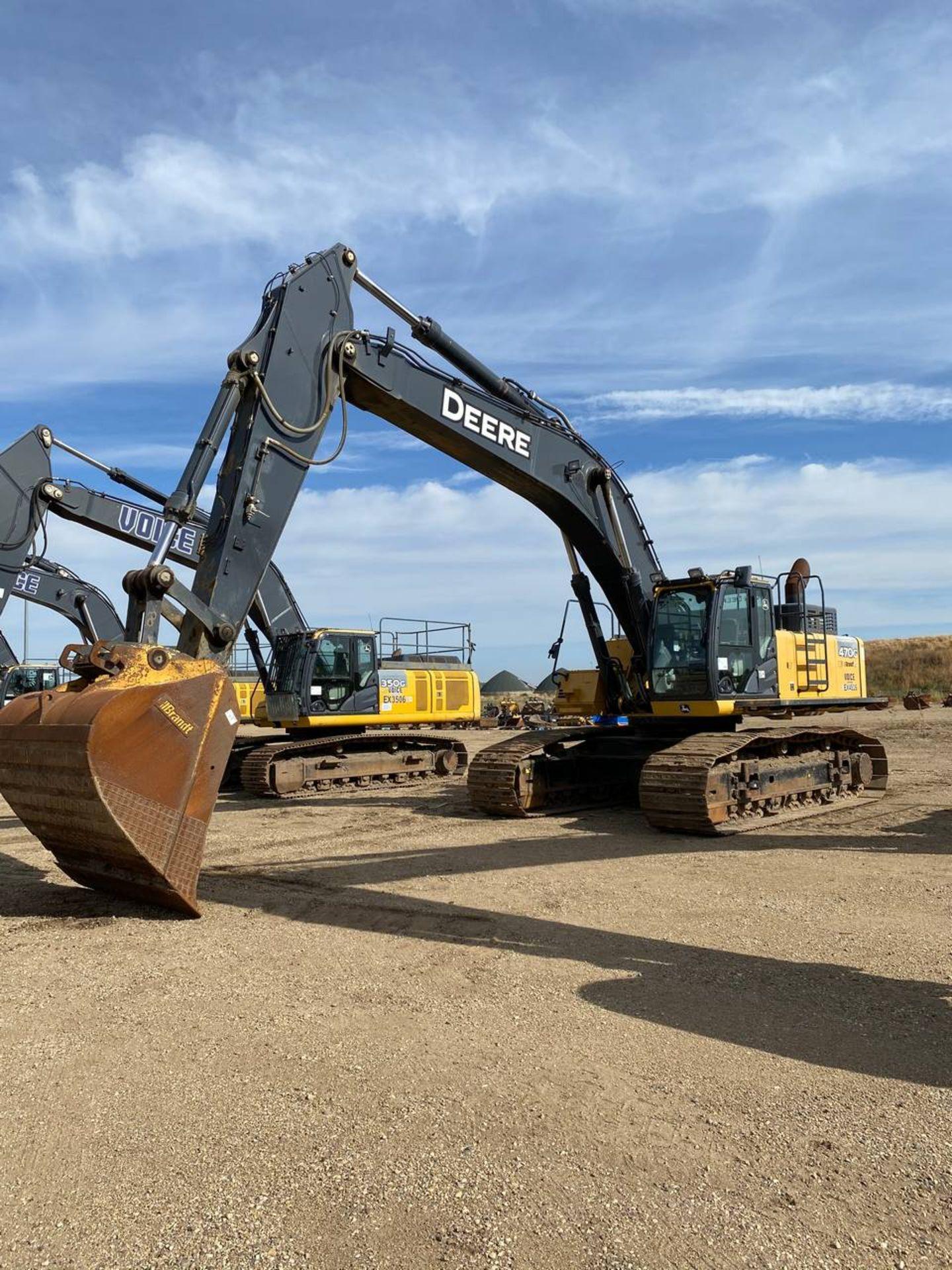 2014 John Deere 470G LC Excavator