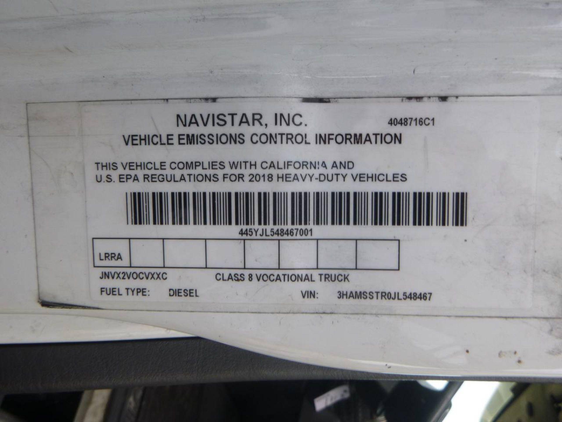 2018 International 4400 SBA 6X4 Dump Truck - Image 13 of 15