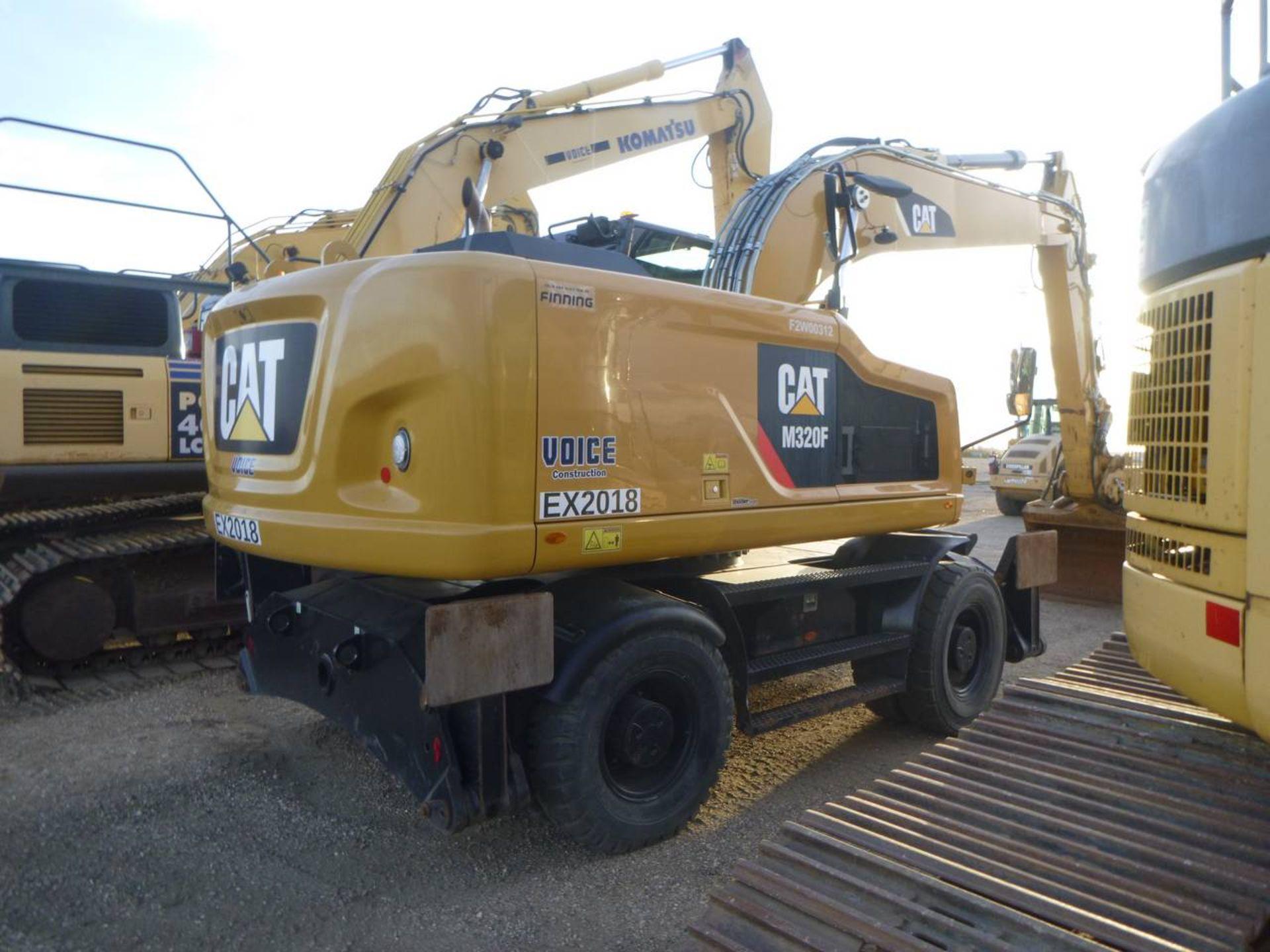 2015 Caterpillar M320F Wheel Excavator - Image 7 of 18