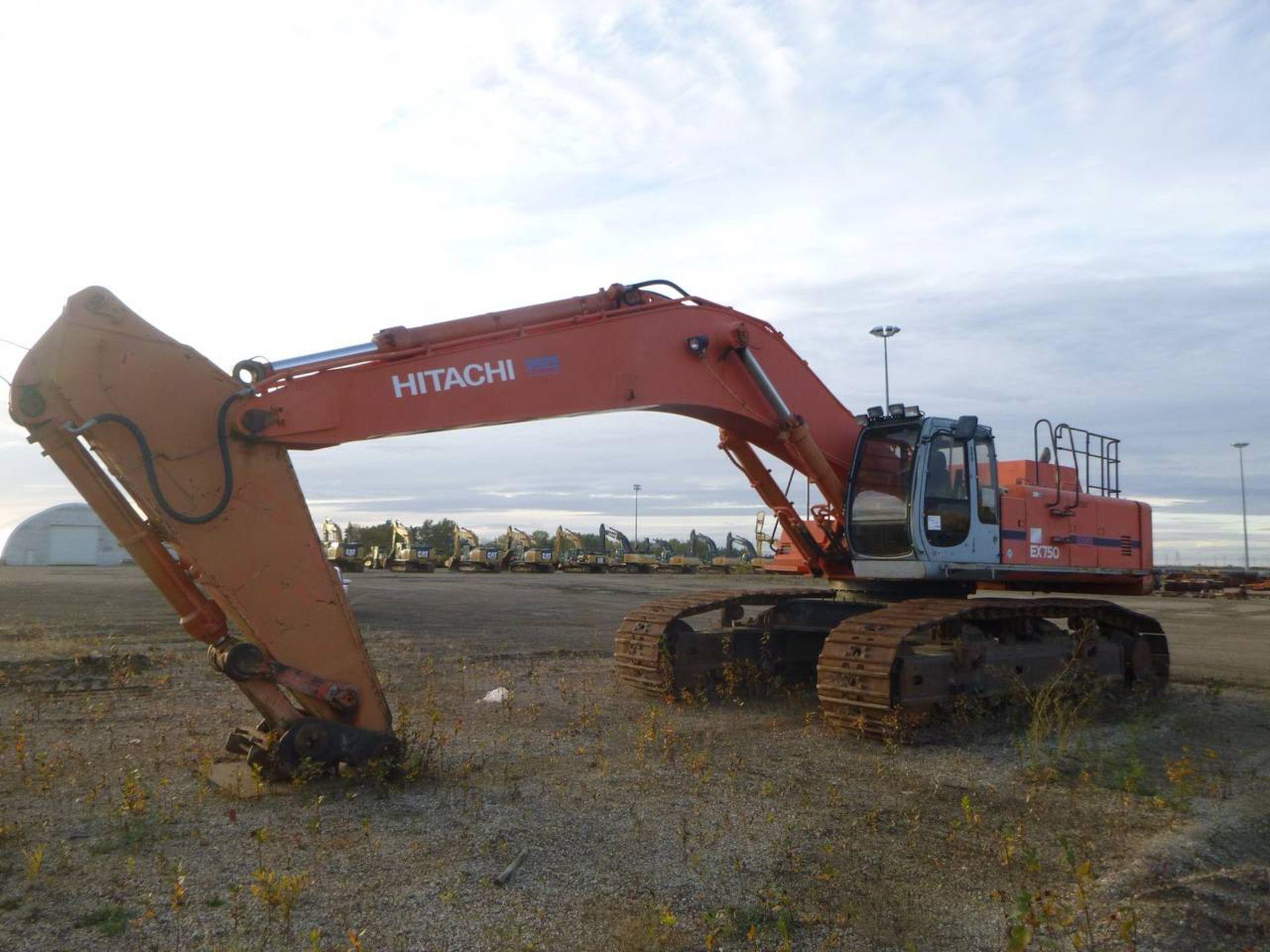 1997 Hitachi EX750-5 Excavator