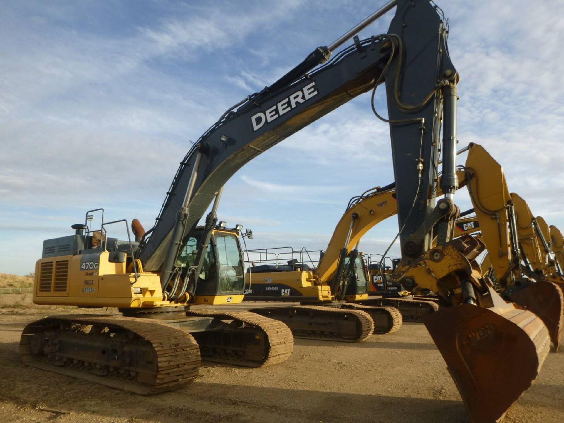 2014 John Deere 470G LC Excavator - Image 2 of 12