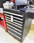 (8) drawer vidmar cabinet