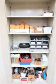 (4) Cabinets With Contents,