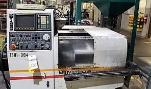 Akebono Minc-26 CNC Gang Tool Lathe