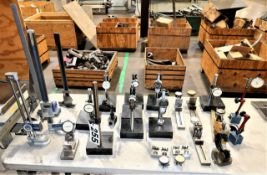 Heights Gages, Micrometer Stands,