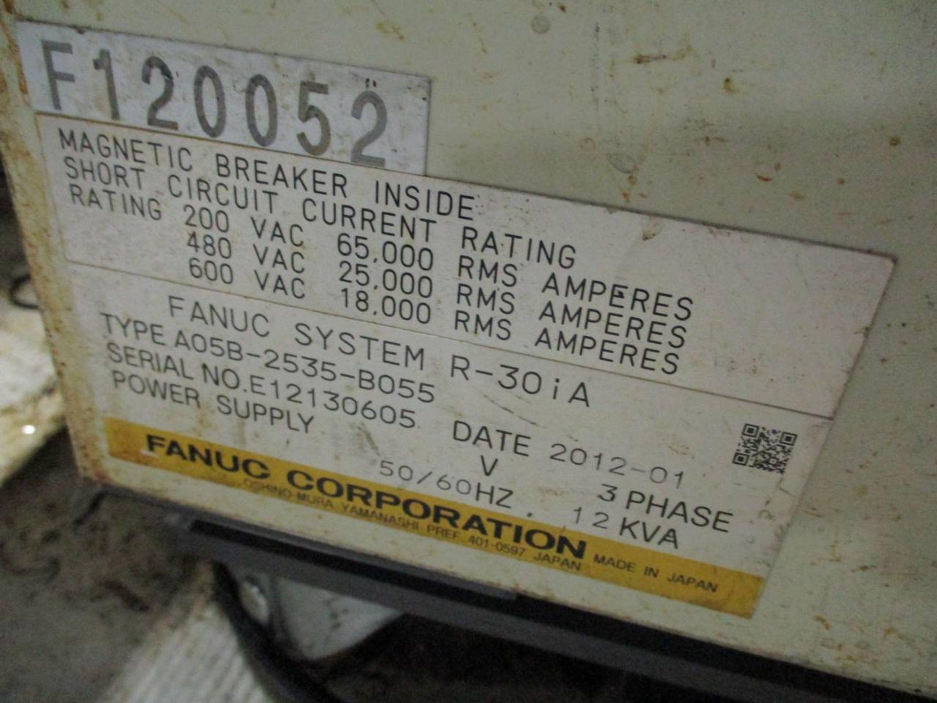 2012 Fanuc R-2000iB 165F Foundry Pro Servo Robot - Image 5 of 7