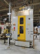 2000 The Ohio Broach Company VTUP-1554-S 15 Ton Vertical Table Up Broaching Machine