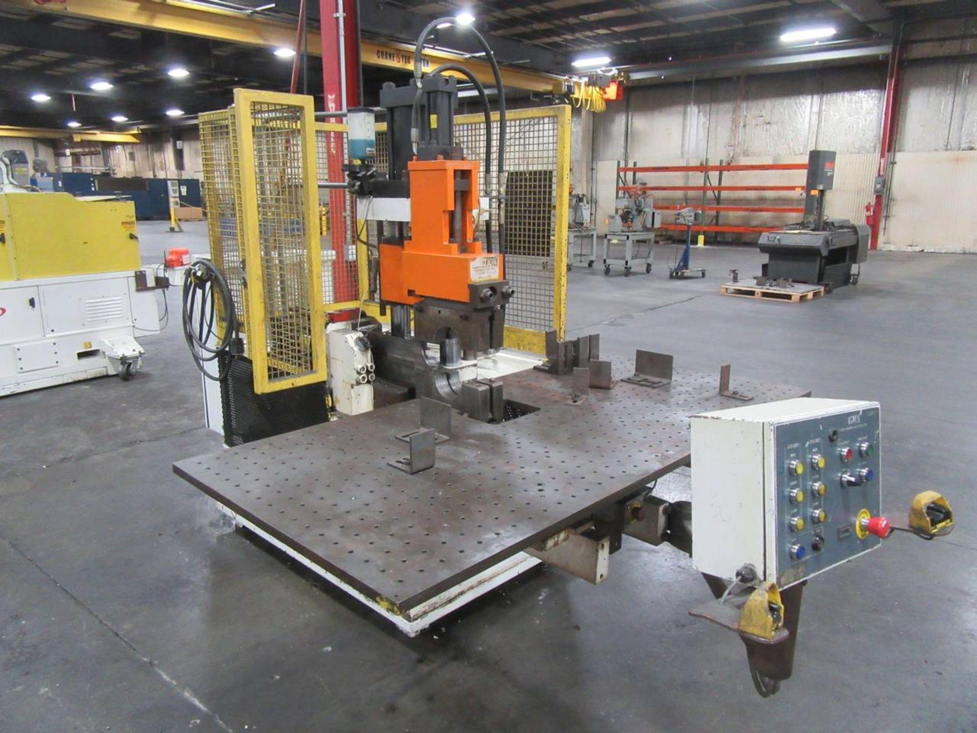 Lot 21 - 2018 GWS Tool Forming Solutions TM600 Cut Off